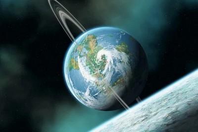 земля окольцована