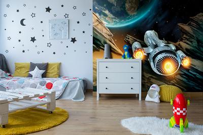 Оформление фотообоями детской комнаты
