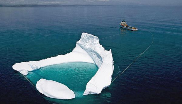транспортування айсберга